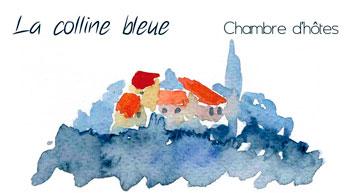 La colline Bleue Logo
