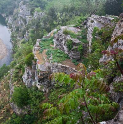 Les jardins suspendus de Labeaume